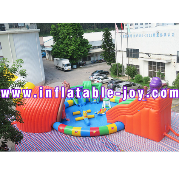 inflatable land park-29